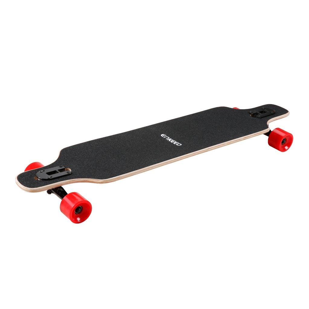 enkeeo longboard  Enkeeo 40 Inch Longboard Skateboard Complete Board Drop-Through ...