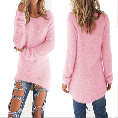 Fashion Women's O-Neck Sweater Female Hedging Loose Pullover