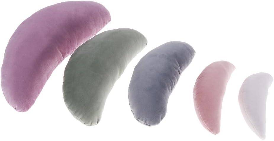 Newborn Posing Beanbag Moon Poser Pillows//Photo Prop//Baby Kit as described White