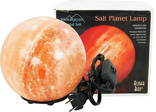 ALOHA BAY Salt Lamp Planet