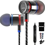RHYTHMZ HD9 Smarttalk [ For iOS & Android ] Professional In-Ear Headphones Earphones with microphone and volume control (Titanium)