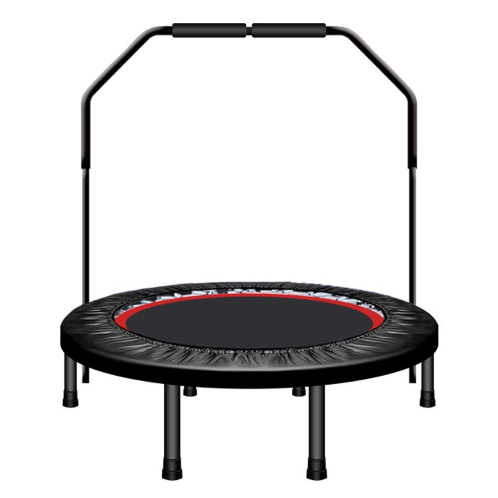 Trampoline, Mini Trampoline avec poignée réglable, Trampoline de Fitness Pliable de 40 Pouces pour Adultes/Enfants, Charge maximale de 150 kg