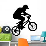 best bmx wall decal  GEN-11229-36 WM195807 BMX-9 Peel and Stick Wall Decals (36 in H x 30 in W), Large