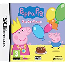 Peppa Pig: Fun and Games [Nintendo DS DSI Kids Game] NEW