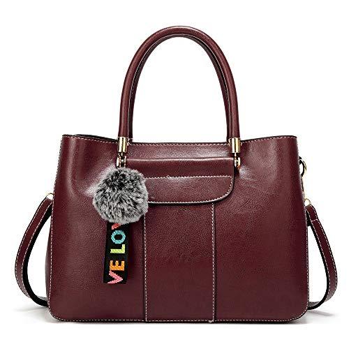 grande honda del del bolso seora lanzado XMY una mujeres la Bolso de la bolso marrn moda las de de con 4Ufnx5w