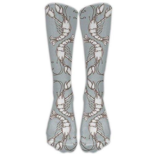 Animal Shrimp Stylish Knee High Sport Sock For Women Or Man Sport High Socks