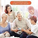 Leffis 2 Pack 10X Magnifying Glass for Seniors