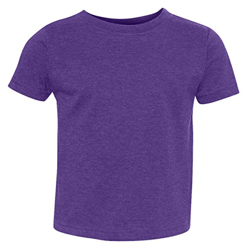 Rabbit Skins Toddler Vintage Ringspun Jersey T-Shirt, Vintage Purple, 6 - Jersey Stores Outlets Premium