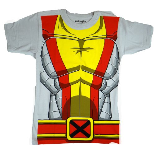 [Marvel I Am Colossus X-men Costume T-shirt (Small)] (Marvel Colossus Costumes)