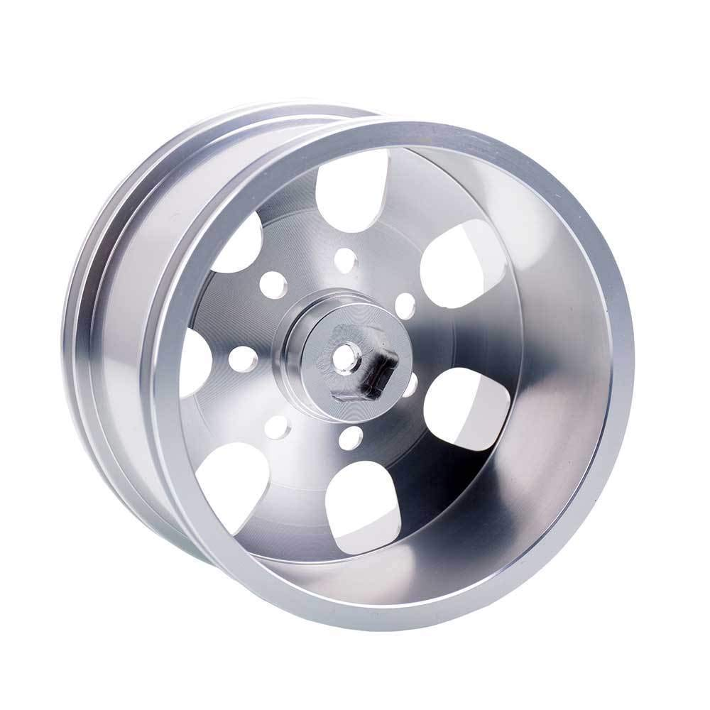 Toyoutdoorparts RC 08008N Silver Alumiunm Wheel 4P Rims D:78mm W:50mm for HSP 1:10 Monster Truck by Toyoutdoorparts (Image #5)