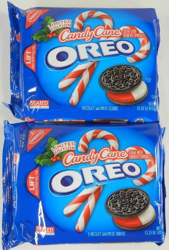 Candy Cane Oreo Limited Edition 15 25 Oz 2 Pack