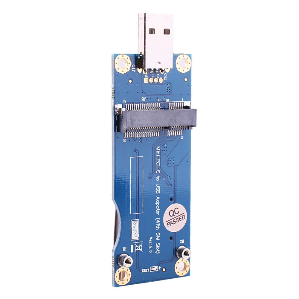 Adaptador Mini PCI-E a USB con Ranura para Tarjeta SIM Que ...