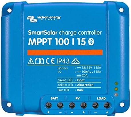 Victron Energy SmartSolar MPPT Laderegler 100/15 12V 24V 15A Solarladeregler Bluetooth integriert