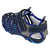 OWMEOT Baby Boys Girls Moccasins Soft ❤️Sole Tassels Prewalker Anti-Slip Shoes 26-37 (Blue, 37)