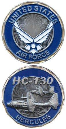 U.S. Air Force HC-130 Hercules Challenge Coin