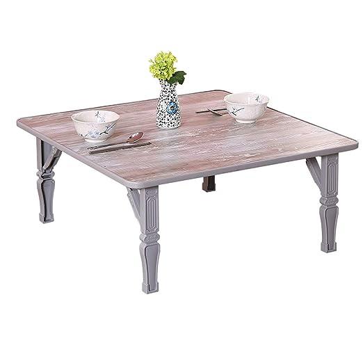mesa plegable LITING Mesa de Comedor Mesa Simple Tatami Mesa de la ...