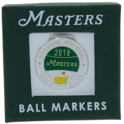 2018 Masters Golf Tournament Commemorative Ball Marker