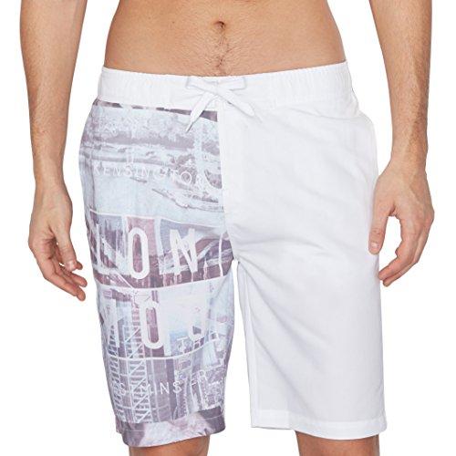 R Edition Uomo Boardshorts Taglia 3 Bianco