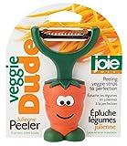 vegi slicer - MSC International Joie Veggie Dude Julienne Fruit Vegetable Peeler, Stainless Steel Blade, 4-Inches