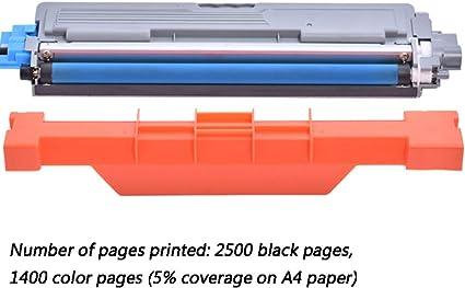 4 juntos) Cartucho de tóner de impresora láser a color TN265BK ...