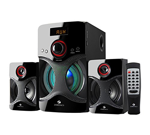 Zebronics 2.1 Bluetooth Multimedia Speaker BT3440RUCF PC Speakers