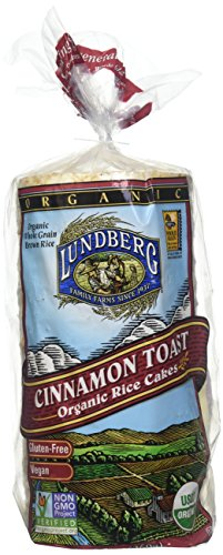 - Lundberg Organic Rice Cakes Cinnamon Toast