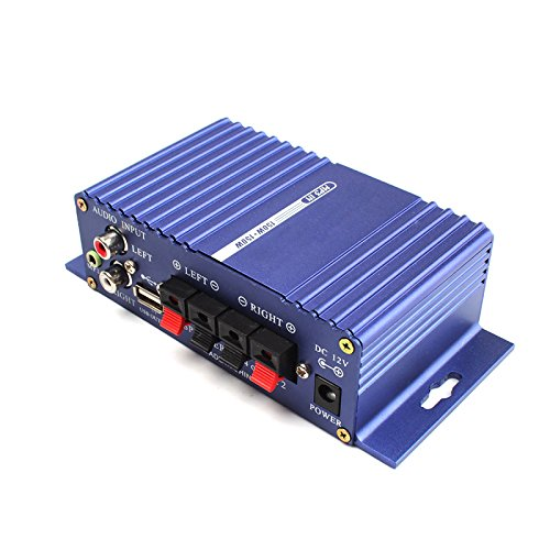 Zhuotop 400/W 12/V Hi-Fi st/ér/éo amplificateur de puissance Audio MP3/Deluxe Auto Sound agrandisseur