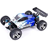 WLToys A959 Vortex 4WD Off-Road Buggy, 1:18 scale, up to 50km/h, with Fully Proportional Speed & Steering, High Speed, 2.4GHz Remote/Receiver (Red or Blue)