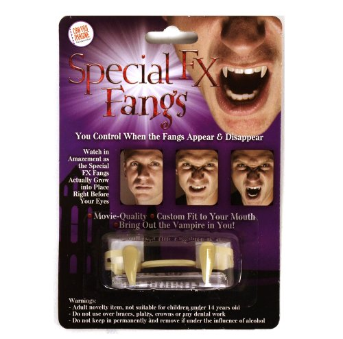 NEW! Retractable Vampire Fangs