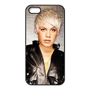 pink singer iPhone 4 4s Cell Phone Case Black xlb2-339584
