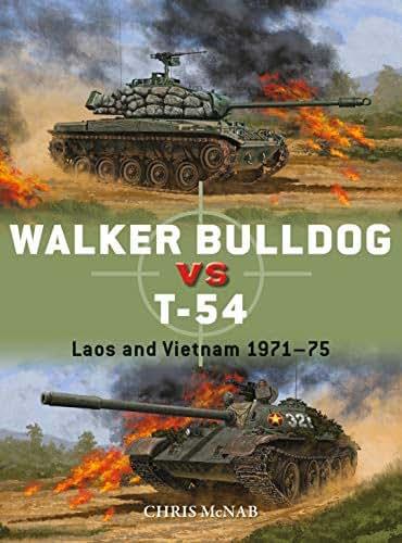 Walker Bulldog vs T-54: Laos and Vietnam 1971–75 (Duel Book 94)