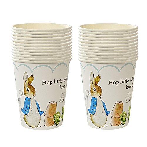 Meri Meri Peter Rabbit Party Cups 2 Pack (Set of 24)