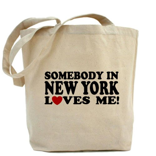 CafePress Design unico Somebody in New York Loves Me – Standard