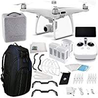 DJI Phantom 4 PRO+ Plus Quadcopter Ultimate Travel Backpack Bundle
