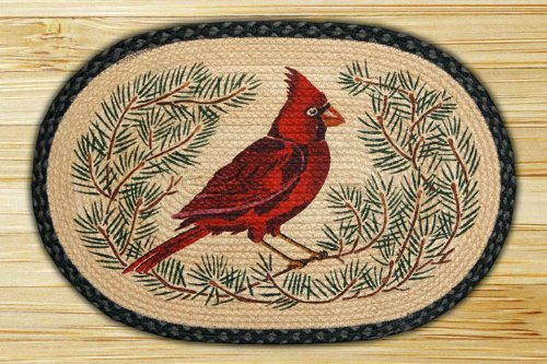 Capitol Importing 89-403 Cardinal - 20 in. x 30 in. Licensed Art Print Oval