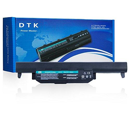 DTK 10.8V 5200mAh Laptop Battery For ASUS R500V A45 A55 A75 K45 K55 K75 R400 R500 R700 U57 X45 X55 X75 Series (P/N A32-K55 A33-K55 A41-K55 A42-K55) by DTK
