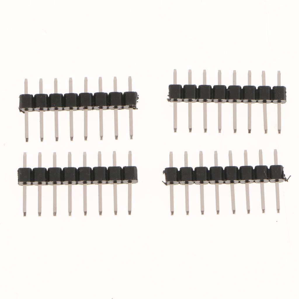 Homyl I2C-Bus-Schnittstelle HT16K33 LED-treibersteuerungsmodul 16-stufige Dimmschaltung F/ür Digitale R/öhrenantriebsplatine