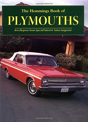The Hemmings Book of Plymouths (Hemmings Motor News Collector-Car Books)
