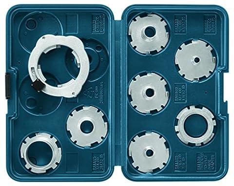 Bosch RA1128 8-Piece Template Guide Set (Bosch Router Insert)