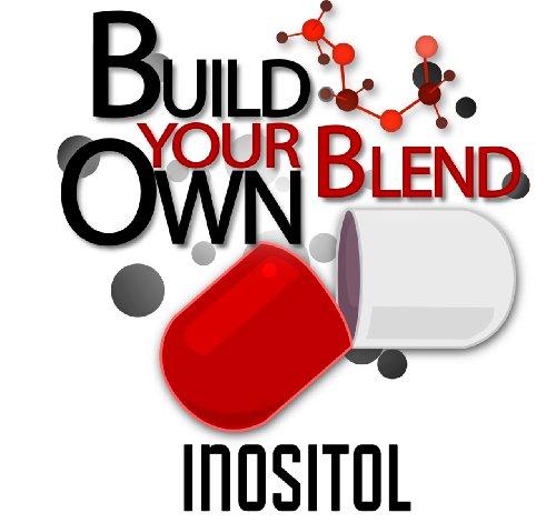 1 kg (2,2 lb) de poudre en vrac Inositol