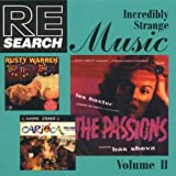 Re/Search: Incredibly Strange Music, Vol. 2