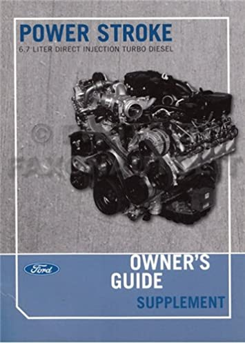 2011 ford 6 7l powerstroke diesel engine owner s manual original rh amazon com 2007 f550 owners manual 2007 f550 owners manual