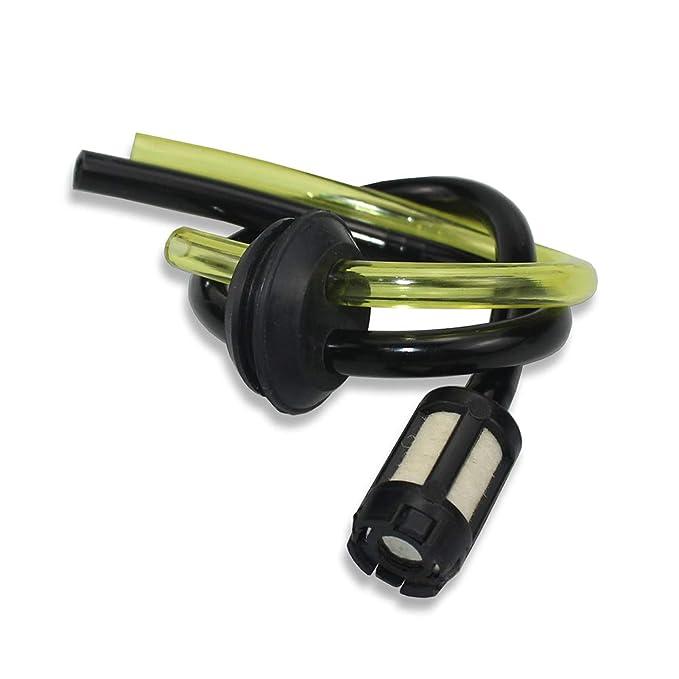Zemoner 5 x Universal Kit de filtros de gasolina Tubo Sello para ...