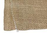 SGT KNOTS Burlap Bag - Large Linen Bag for