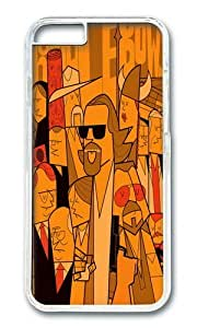 Zheng caseApple Iphone 6 Case,WENJORS Adorable The Big Lebowski Hard Case Protective Shell Cell Phone Cover For Apple Iphone 6 (4.7 Inch) - PC Transparent