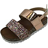 Girls, Toddler Infant Kids Basic Summer Wedge Sandals