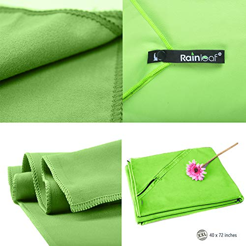 Rainleaf-Microfiber-Towel-Perfect-Sports-Travel-Beach-Towel-Fast-Drying-Super-Absorbent-Ultra-Compact-Suitable-for-Camping-Gym-Beach-Swimming-Backpacking