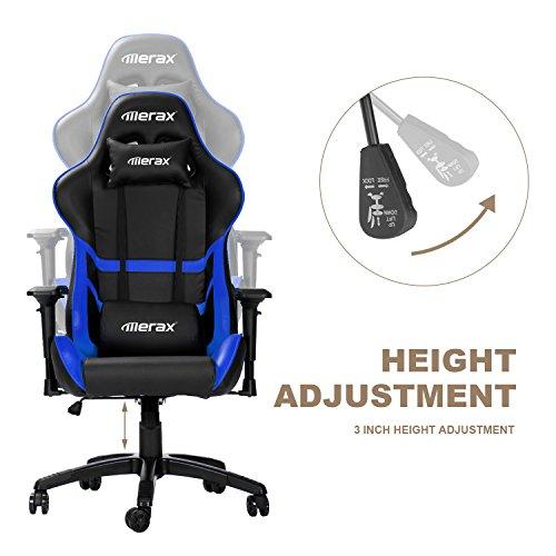 Merax High Back Computer Chair Ergonomic Design Racing Gaming