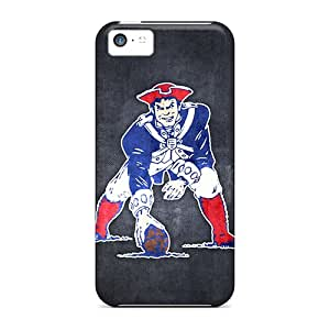 NFLrd14164vFrPB Snap On Case Cover Skin For Iphone 5c(new England Patriots 10)