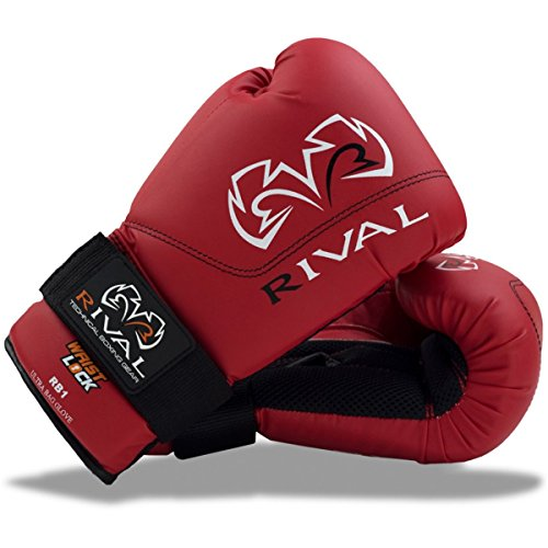 Rival Boxing Gloves-RB1 Ultra Bag Gloves (Red, 10oz) by Rival Boxing